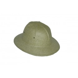 Chapeau colonial corde tressee
