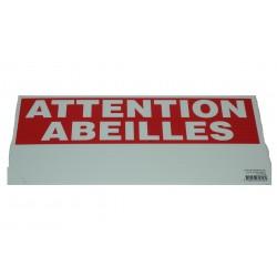 """""""panneau """"""""eco"""""""" attention abeilles"""""""