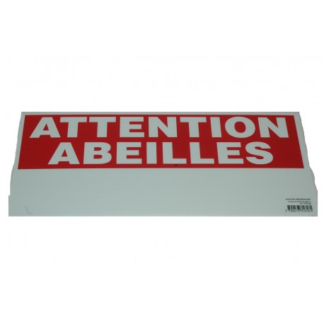 """panneau """"eco"""" attention abeilles"""