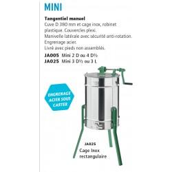 Extracteur mini 6/3 dt ou l-3 tangentiel avec pieds