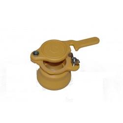 Ensemble robinet jaune 40/49 +manchon+joint