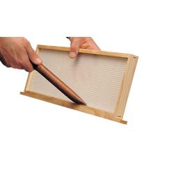 Nettoyeur cadre de ruche avec manche en plastique
