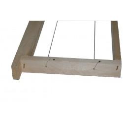 Cadre dadant hausse fils horizontaux (carton de 96)